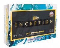 2021 Topps Baseball Inception Hobby Box *Sealed* Autograph Guaranteed