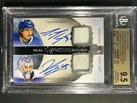 2013-14 The Cup Dual Signature Patches Phaneuf Bernier 35/35 BGS 9.5 10 Auto