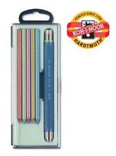 All Metal Mechanical Pencil Clutch Leadholder Set KOH-I-NOOR 5340 5.6mm Blue