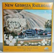 "Sunsout 500 piece Puzzle. ""New Georgia Railroad"" NIB"