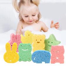 Kids Bath Brushes Sponge Animal Pattern Children Shower Product Baby Care*_*