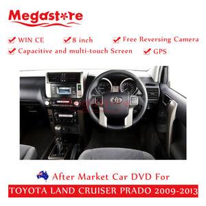 "8"" Car DVD GPS radio Head Unit Stereo For TOYOTA LANDCRUISER PRADO 2009-2013"