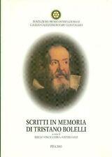 VINCINGUERRA Sergio, Scritti in memoria di Tristano Bolelli