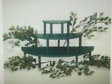 Byers' Choice Display Riser Kit #657  Includes 3 Tiers and Artificial Holly NIB