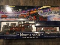 Bachmann Big Haulers North Star Express G Scale Set Great Condition 90018 RARE