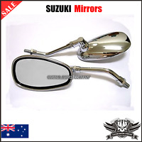 New Chrome Motorcycle Rear view side Mirrors for Suzuki Boulevard C109R C50 C90