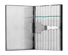 Matte Black Stainless Steel Cigarette Case
