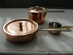 COPPER SAUCE  PANS BY CONTATTO