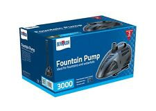 Garden Water Fountain & Accessories 3000 lts per Hour Suitable For All Ponds