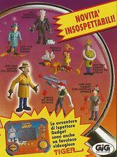 X4232 GIG Tiger - L'Ispettore Gadget - Pubblicità 1993 - Advertising