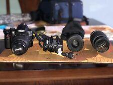 Nikon D5000 Bundle with18-55mm 55-200mm VR Lens - Used