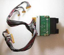 Roland JD-990 card connector board assembly, card escutcheon