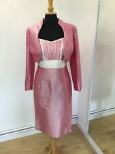 Beautiful NEW Silk Designer Outfit Size 14