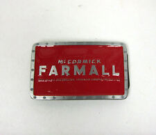 Farmall Red Rectangle Belt Buckle