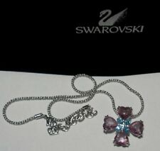 "Swarovski Silver Crystal Jewellery ""light Amethyst/ Aqua Necklace 1807022"