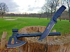 Beil + Messer Axt Knife Tomahawk Bowie Buschmesser Costello Asia Hunting NEU