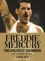 Freddie Mercury: The Greatest Showman DVD (2018) Freddie Mercury cert E 2 discs