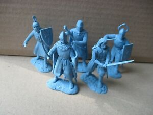 New set! Medieval Knights Warhansa ~ 60 mm Russian made new very !!! soft resin