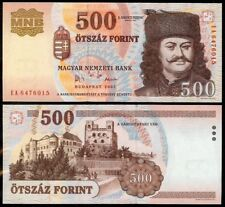 HUNGARY 500 FORINT 2005 P188d UNCIRCULATED