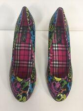 Para Mujer Tacones Zapatos De Moda Puño de Hierro Uk8