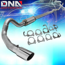 "FOR 1993-2000 CHEVY/GMC C/K 6.5 DIESEL 4""OD TURBO CATBACK EXHAUST SYSTEM+MUFFLER"
