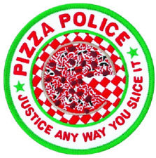 Pizza Police Patch 5""