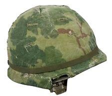 Vietnam War M1 Helmet Complete
