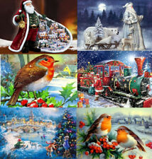 Xmas Full Drill 5D Diamond Painting Embroidery Cross Stitch Christmas DIY Kits