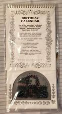 NOS Birthday Calendar Counted Cross Stitch Kit 1995 Dunfield Perpetual USA NEW