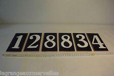 Anciens chiffre en grès vernis ou émaillé 128834
