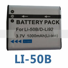 Camera battery for OLYMPUS SP-815UZ Stylus 1010 Stylus 1020 LI-50B L1 50B 900mAh