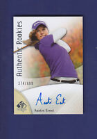 Austin Ernst RC 2013 Upper Deck Golf SP Authentic 374/699 #89 (MINT)