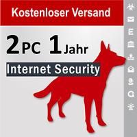 G Data Internet Security 2018 Vollversion GDATA 2 PC / 1 Jahr plus Bonus-Periode