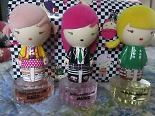 Harajuku Lovers, Gwen Stefani's, HSN, perfume set, 3 dolls,1 fl oz, rare,large
