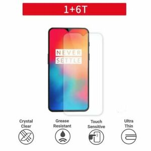 OnePlus 6T Premium Protection Plastic Film Screen Protector Clear