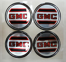 Vintage 80's 90's Automotive Wheel Center Cap Round Emblem Accent Trim GMC