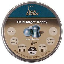 H&N .22 (5.5 mm) Field Target Trophy carabina Rifle Pistola Pellet - 500