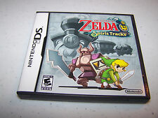 The Legend of Zelda Spirit Tracks Nintendo DS Lite DSi XL 3DS w/Case & Manual