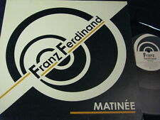 "FRANZ FERDINAND Matinée / UK 12""MAXI 2004 DOMINO RUG 176T"