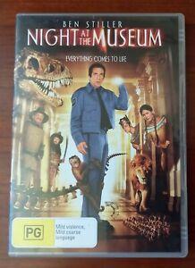Night At The Museum (DVD) Region 4 - Ben Stiller