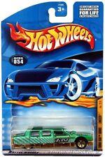 2001 Hot Wheels #54 Turbo Taxi Limozeen 5 spoke