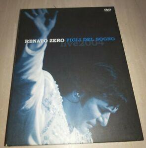 2 DVD RENATO ZERO FIGLI DEL SOGNO LIVE 2004