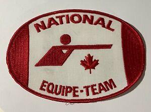Vintage Canada National ShootingTeam /Équipe National de Tir Crest Patch