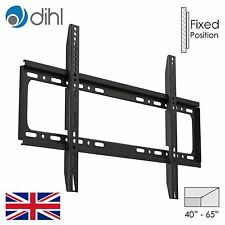 "Dihl TV for 40"" - 65"" Bracket Plasma LCD LED Fixed Wall Mount Slim VESA 400x600"