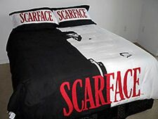 Scarface (Tony Montana) 3 Piece Queen Size Luxury Comforter Set w/Pillow Shams