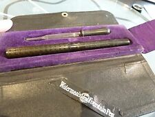 RARE WATERMAN BCHR EYEDROPPER IN RARE TRAVEL CASE