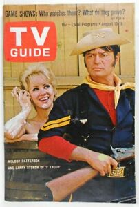 Vintage Pittsburgh, PA 1966 August 13-19 Larry Storch of F Troop