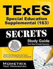 TExES (163) Special Education Supplemental Exam Secrets Study Guide: TExES Test