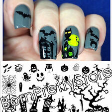 BORN PRETTY Nail Stamping Plates Nail Art Template Halloween Image Plate Stencil