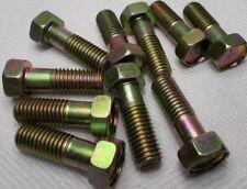 M12 12mm X 1.75 Coarse X 35mm Thread Hex Head Bolt Lot Of 10 Bolts